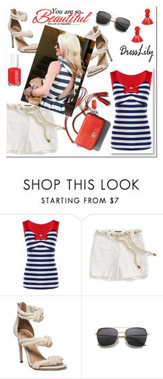 """Dress Lily"" by aidaaa1992 ❤ liked on Polyvore featuring Tommy Hilfiger"