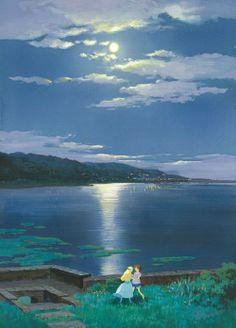 """Omoide no Marnie (When Marnie Was There)"" (2014). (Studio Ghibli)"