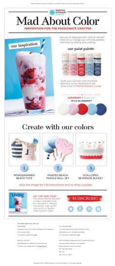 Must have colors for summer crafting! | Email Institute