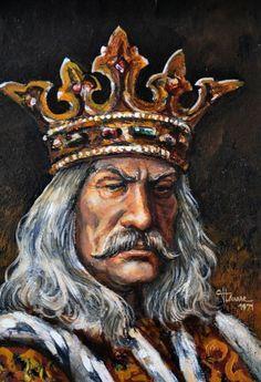 Picturi ale lui Ştefan cel Mare şi Sfânt Republica Moldova, Fantasy, Dracula, Renaissance, Medieval, Numerology, Painting, Spirit, Tattoo