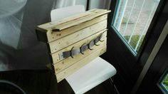 DIY pallet coat and hat rack Coat And Hat Rack, Diy Pallet, Home, Ad Home, Homes, Haus, Houses