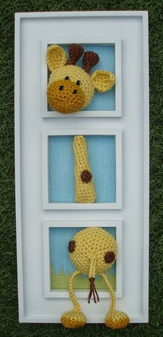 Amigurumi Crochet Sels: Another painting
