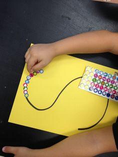 Sticker Letters: Mrs. Cardenas' Bilingual Prek Classroom