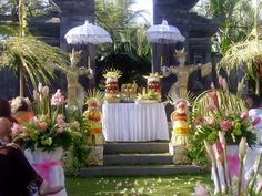 Colorful balinese wedding bouquets one only bali weddings bali balinese wedding junglespirit Images