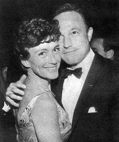 Gene Kelly and his second wife, Jeanne Coyne.