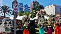 Dia de los Muertos events will be in full swing in Los Angeles, with celebrations that honor the deceased who have gone to the other side.
