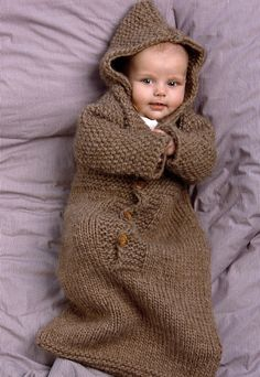 Med en ulden kørepose er du helt sikker på, at babyen ikke sparker dynen af og bliver kold.