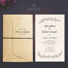 Novo Modelo #maranello, convite super #Economico. #Elegancia #rustico #convite #barato #noiva @spazioconvites #casar #wedding #love #paper #especial #convitesdecasamento #noivo #monograma #floral #brasão #baixar #compar #top