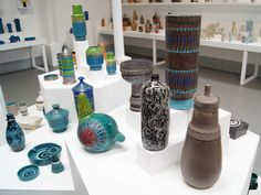 Ceramics designed by Aldo Londi Produced by Bitossi.