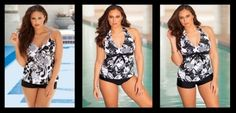 Beach Belle Floral Swimsuit for Large Women will give you a smart option    Read more http://www.sera-fox.com/plus-size-swimwear-2013.html    Sera-Fox.com - http://www.sera-fox.com/plus-size-swimwear-2013.html