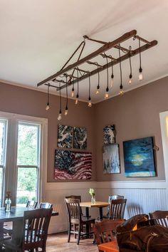 no 144 the barn ladder chandelier in 2019 edison mccarthy rh pinterest com