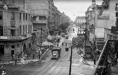 Bucuresti, intersectie Calea Victoriei - b-dul Elisabeta 24 august 1944