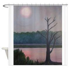 HAZY SUNRISE Shower Curtain > HAZY SUNRISE > Patty Weeks Gallery