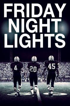 Friday Night Lights Movie Poster - Billy Bob Thornton, Tim McGraw, Derek Luke  #FridayNightLights, #MoviePoster, #Drama, #PeterBerg, #BillyBobThornton, #DerekLuke, #TimMcGraw