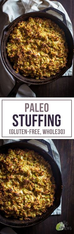 The Best Paleo Stuffing (Gluten-Free / Whole30 / Primal) - Perfect for Thanksgiving