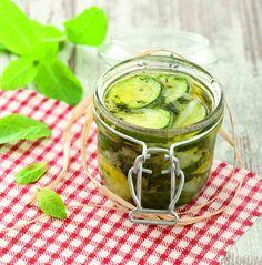 Zucchine in agrodolce al profumo di menta