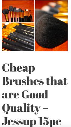 Check out this review on this great quality brush set for under $20! Check out my beauty blog for make up, skin care, and all things beauty! ❤️ iamkhila.wordpress.com