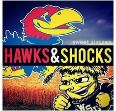 "GO KU AND WSU!!!  March Madness 2013 Kansas may be called the ""fly over"" state, but on the basketball court WE SOAR!"