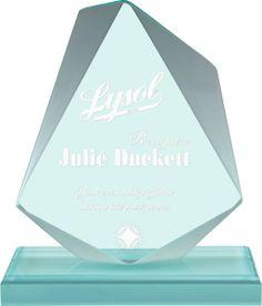 Jade Jewel Acrylic Award