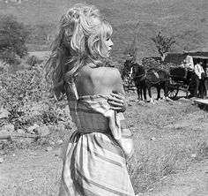 gatabella — Brigitte Bardot on the set of Viva, Maria!, 1965