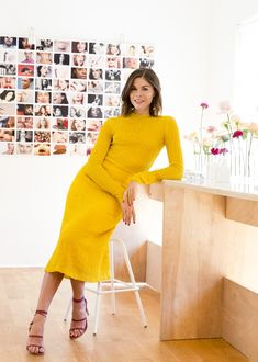 Emily Weiss into the gloss office style