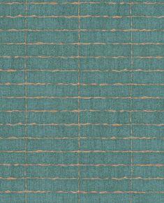 376071 Batna Teal Brick by Brewster