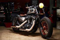 ϟ Hell Kustom ϟ: Harley Davidson By Mad Crow Garage