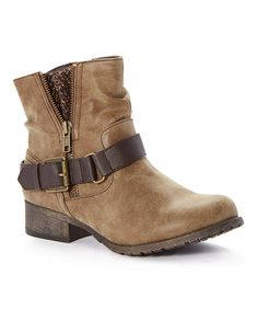 Jellypop Geller Short Bootie - WOMEN - BROWN SYN 1
