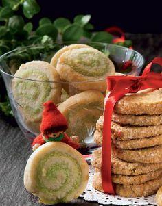 En rigtig julesmåkage med smag af marcipan og pistacie - mums!