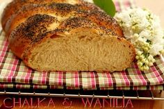 Chałka z wanilią Candy Making, Nom Nom, Bread, Baking, Breakfast, Recipes, Food, Diy, Breads
