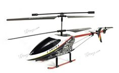 "UDI U12A Large 3 Channel Big Metal 28"" RC Helicopter 2.4GHz w/ Video Camera: $99.99"