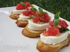 Fotorecept: Bruschetta mozzarela