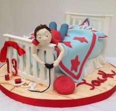 Teenage boy cake