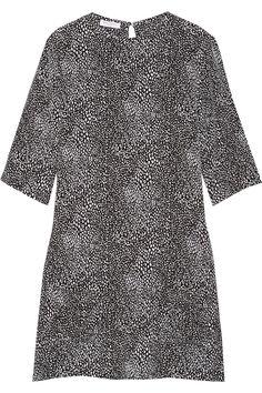 Equipment Mini-robe en soie lavée imprimée Aubrey NET-A-PORTER.COM