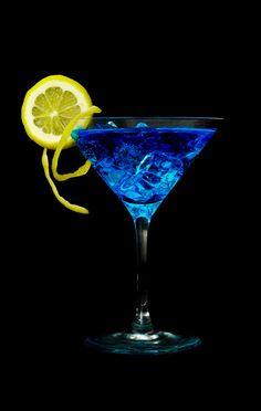 blauer Cocktail von M-Julienne
