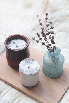 Lavendel Kerzen selber machen | www.juyogi.com