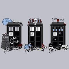 9's, 10's, and 11's TARDISes :)