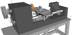 The Multimachine – $150, 12″ Swing, Metal Lathe/Mill/Drill