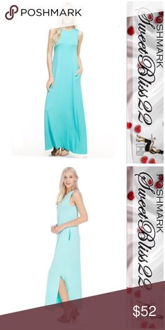 💋Atlantis Blue Maxi Dress💋 Summer is almost here, and you can't do summer without a maxi dress! If you don't buy anything else this summer, make sure you pick up this dress! Beautiful color, stylish, and comfy! ⭐️Small fits 4 to 6 ⭐️Medium fits 8 to 10 ⭐️Large fits size 12 to 14 Dresses Maxi