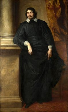 Anthony van Dyck:  Portrait of the Abbé Scaglia, 1634.