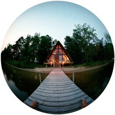 The place I want to go to think about our next product @CasaHop    http://freecabinporn.com/post/28350422099/1960s-a-frame-cabin-on-agate-lake-in-central