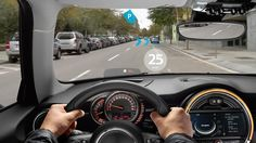 Steampunk enthusiasts and Morgan owners aside, driving goggles are a thing of the past, rendered obsolete by the advent of the windshield. Yet Mini sees a bright future in which we all wear goggles … as head-up displays.