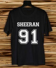 Ed Sheeran Shirt Women and Men Sheeran T Shirt by VioleteTees