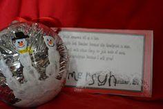 Simply Savvy: Simple Handprint Snowman Keepsake Ornament