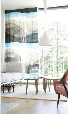 marimekko wall hanging/curtain