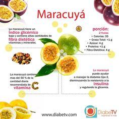Vive con Diabetes - Beneficios de la fruta maracuyá