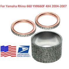 Aluminum RADIATOR Yamaha Rhino 450//660 06-09 07 08 2004-2007 05 2005 2006 2008