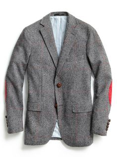 GANT by Michael Bastian Prince of Wales Two-Button Blazer