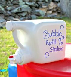 She Was About To Toss Out These Old Detergent Bottles. What She Does Instead? Pure Genius! | facebook
