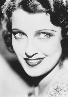 If I were to get a portrait tattoo, it might have to be one of Jeanette Macdonald.